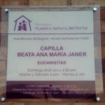El barrio El Porvenir ya tiene una capilla dedicada a la Beata AMJ