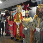 …Y después de la comunidad, los Reyes de Oriente visitan el Hospital de La Seu