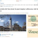 ¡La Parroquia de Palomeras en la prensa!