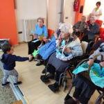 """Celebración de la """"Castañada"""" intergeneracional"""