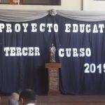 Defensa de los Proyectos Educativos de 3er curso de nuestro colegio de San Lorenzo