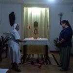Celebración de inicio del voluntariado en Niefang de Sandra Alelí
