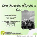 ENCUENTRO MUNDIAL JANERIANO: COMO JESUCRISTO, OBLIGADOS A HUIR