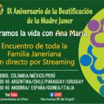 IX ANIVERSARIO BEATIFICACIÓN DE ANA MARÍA JANER