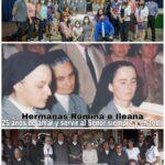 25 AÑOS DE VIDA CONSAGRADA DE NUESTRAS HERMANAS ILEANA Y ROMINA